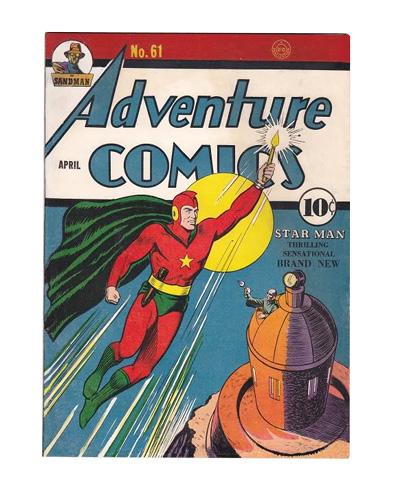 Comic Book Restoration - Adventure Comics AFTER